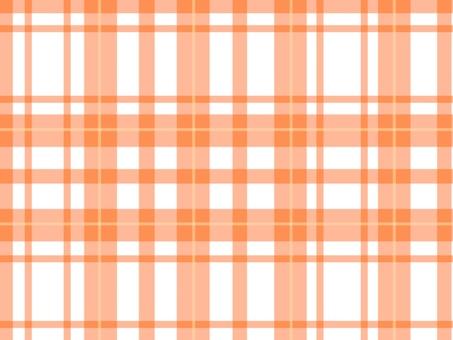Check pattern (orange, white)