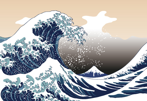 Ukiyo-e Wave Part 9