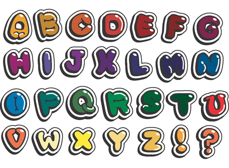 Alphabet one by one