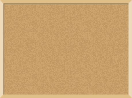 コルクボード03(茶色)