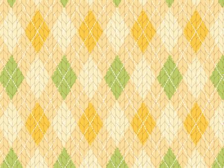 Argyleit knit material 2