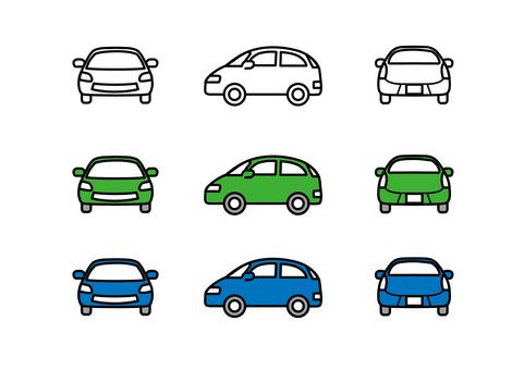 汽車側身車輛生態汽車