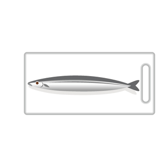 まな板と魚