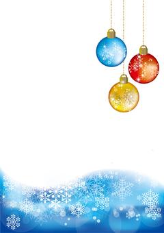 Snow Crystal Ornament ball 27