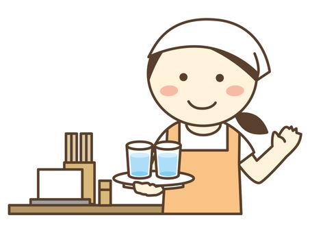 膳食準備店/烏冬麵店/蕎麥麵店/餐廳