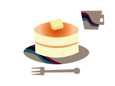 Pancakes and modern dishes