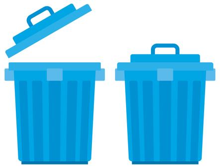 Trash bin-01 (plastic round pail)