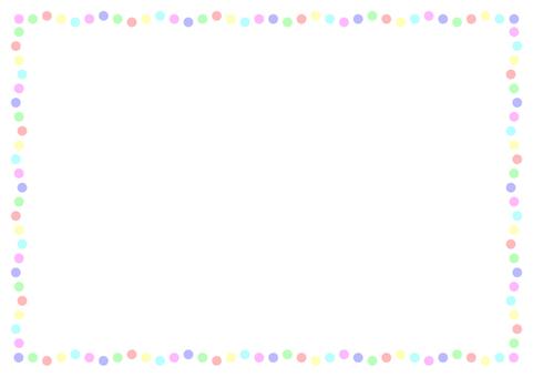 "Frame ""Dots"" -2 Rhythmical"