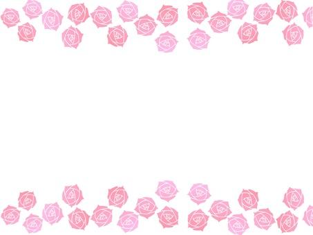 Roses frame 1