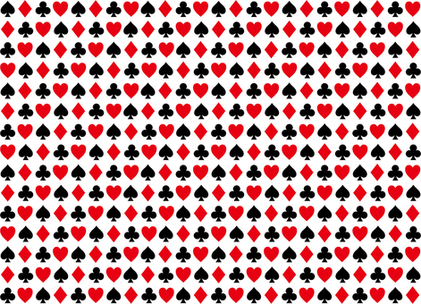 Pattern of playing cards 3a