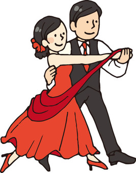 Ballroom dance (youth / red)
