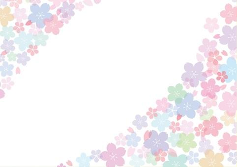 Pastel cherry background image 3