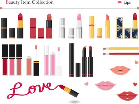 Cosmetic items lip