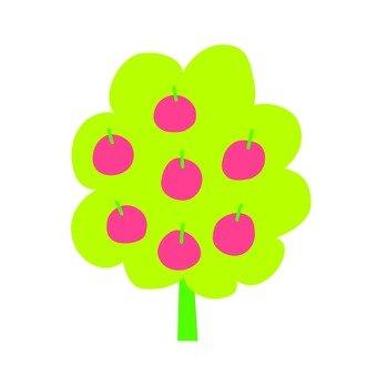 북유럽 풍 나무 (사과)
