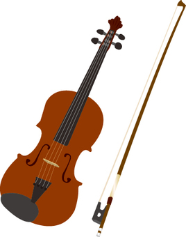 Musical instrument series Violin