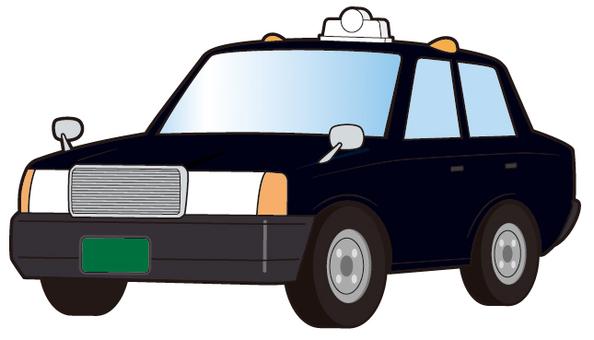 Black taxi