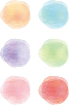 Colorful circles 2