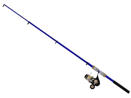 釣魚竿和捲軸