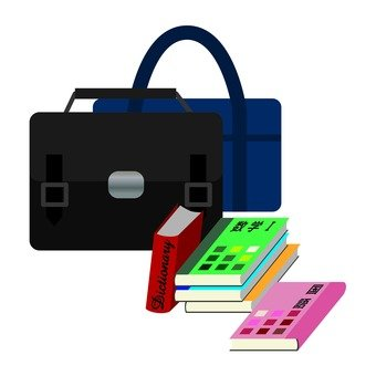 Student bags and teaching materials