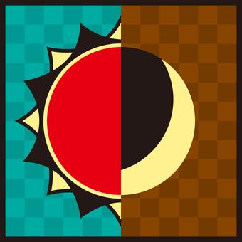 달과 태양의 아이콘