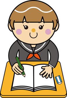 Student 05_09 (girl, study)