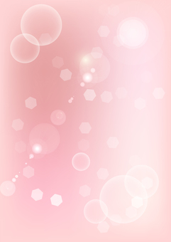 Glittering pink