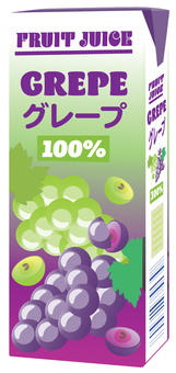 Grape juice_pack 200ml