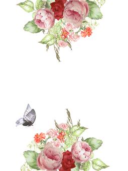 Flower frame 225 Cherry blossom frame