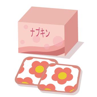 Sanitary wares (napkins)