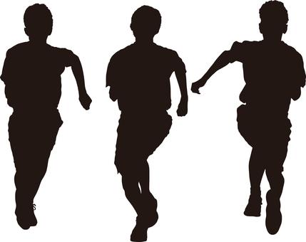 Race silhouette
