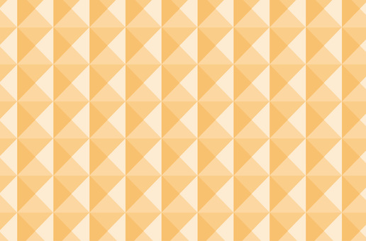 Orange background picture Quadrangular pyramid · Geometric pattern ☆ Wallpaper