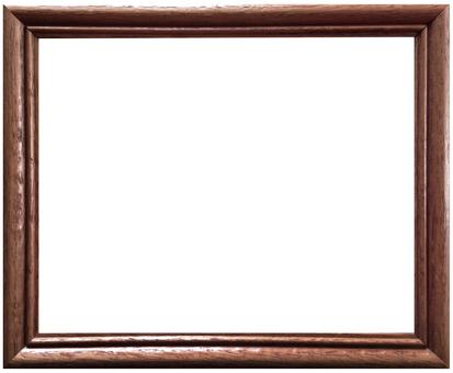 Vintage wood frame tea