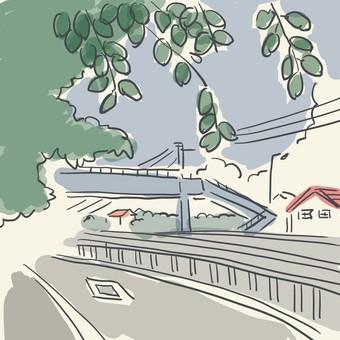 Summer landscape ~ Road