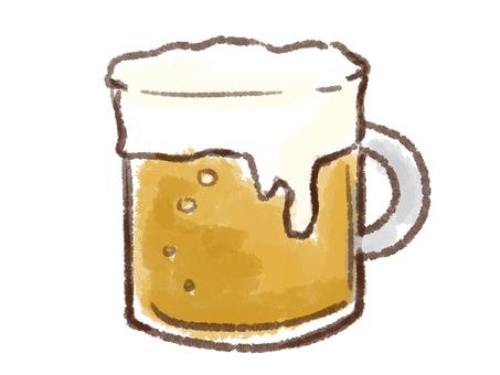 Crayon series [beer / mug]