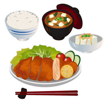 Set lunch set