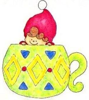커피 컵에서 ... ♪