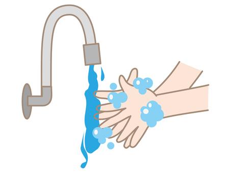 Hand washing b
