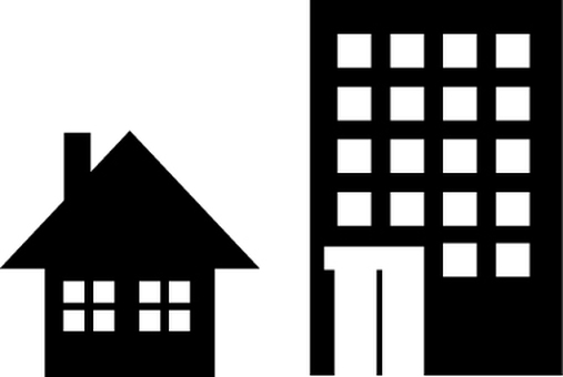 House and apartment icon