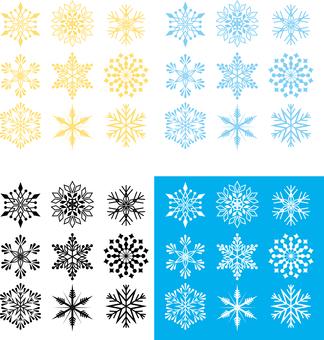 Snow Crystal of Snow