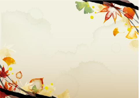 可能在秋季使用的背景材料26
