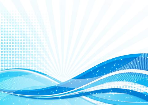 Background (blue line)