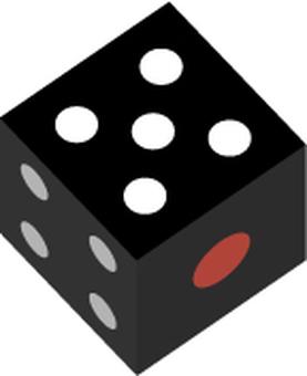 Black dice 5