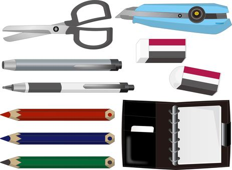 Scissors and cutter stationery