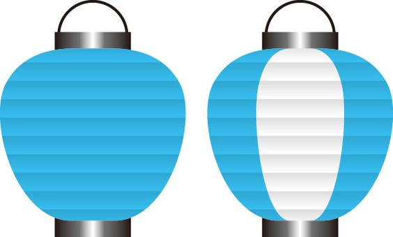 Lantern light blue