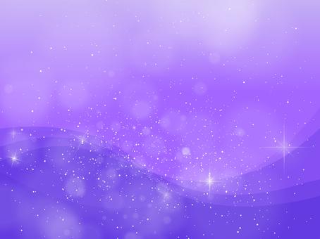 Purple sparkling