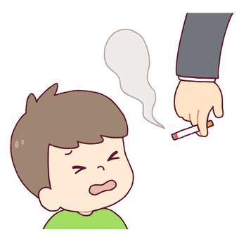 Walking tobacco and children