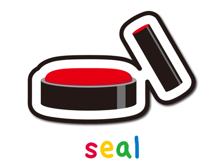 Seal and vermilion
