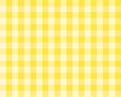 Gingham check - yellow