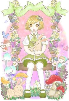Fairy tale green