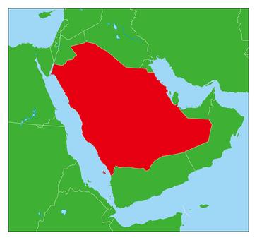 Saudi Arabia Map-Benefit